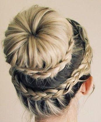 La moda en tu cabello: Peinados Recogidos con trenzas 2016