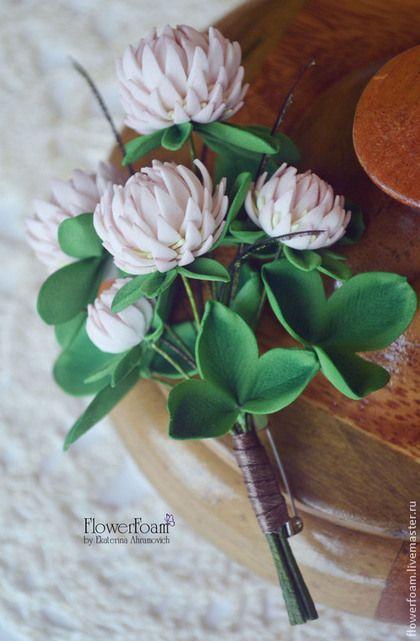"""Цветы из фоамирана. Брошь """"Очарование лета"""" - бледно-розовый,цветы из фоамирана"""