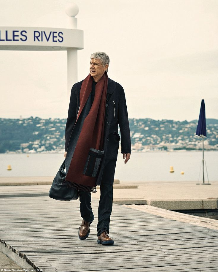 Arsene Wenger as you've never seen him before: Arsenal boss says he brings out the 'beauty in man' in French fashion shoot  | Daily Mail Online