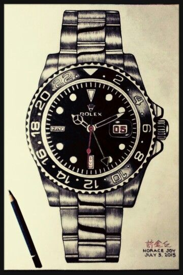 Certified Pre Owned >> my Drawing...ROLEX | my drawings en 2019 | Disenos de unas