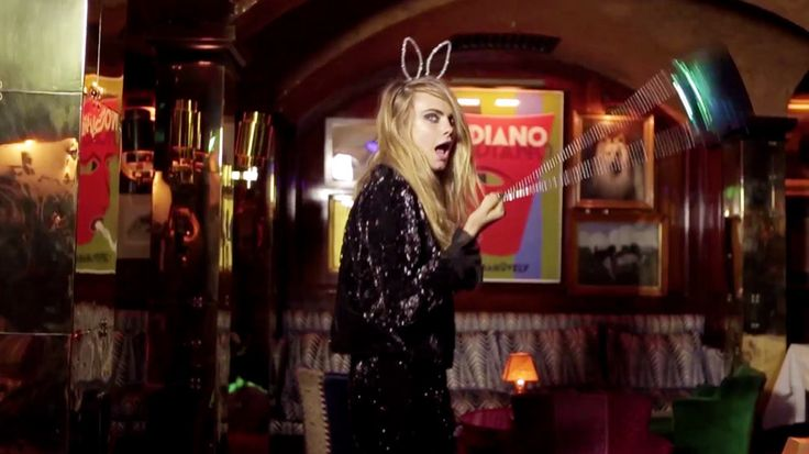 #Caradelevigne presents the new holiday/party collection. Check it out on styletorch.com