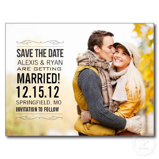 Save The Date Postcard #savethedate #weddings #chicagoweddingplanner