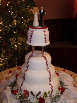 Image detail for -Sports Themed Weddings - Sports Themed Wedding Cakes