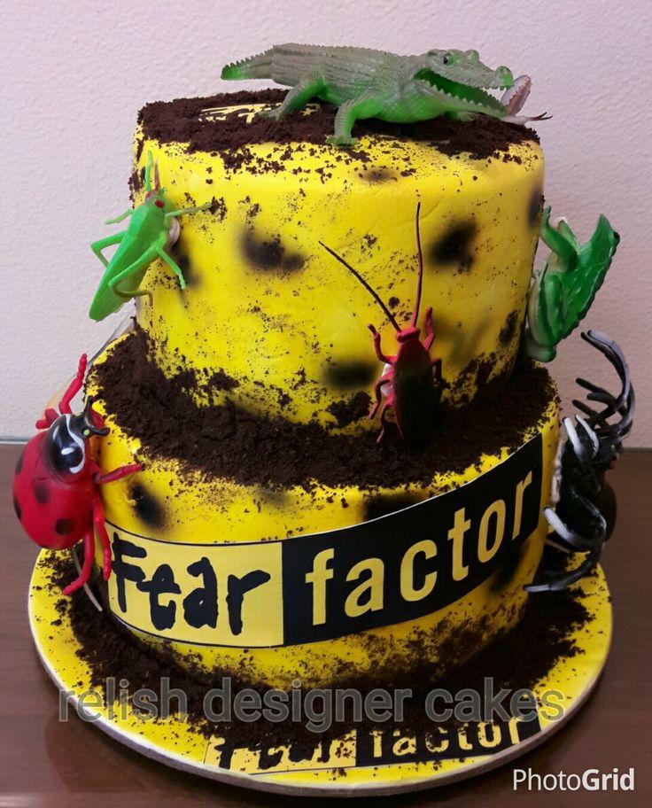 Fear factor cake