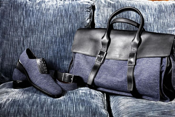 Ferragamo: Forget basic black, add a jolt ...
