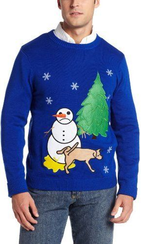 Your online source for funny christmas sweaters, funny ugly christmas sweaters,funny christmas sweater,funny christmas sweaters for men,funny sweaters and Alex Stevens Men's Sad Snowman Ugly Christmas Sweater.
