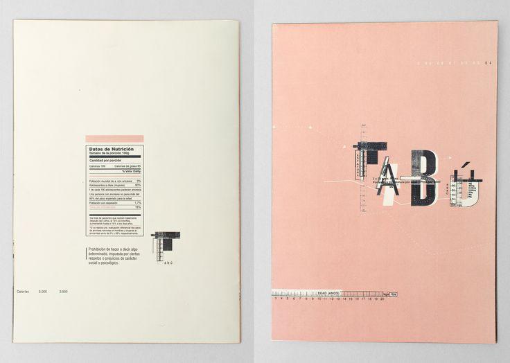 TABÚ - Desplegable Tipográfico - DG I
