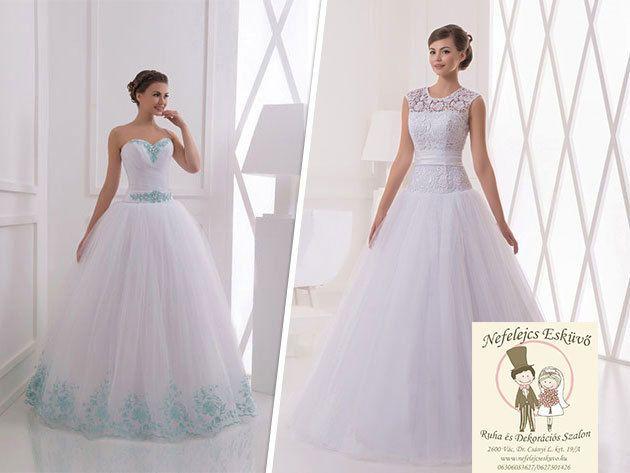 Legyen a Tiéd a legszebb esküvői és menyecske ruha - Nefelejcs Esküvő (Vác)