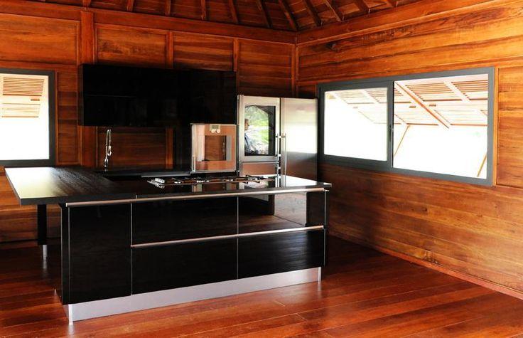 Maison bois cuisine 1