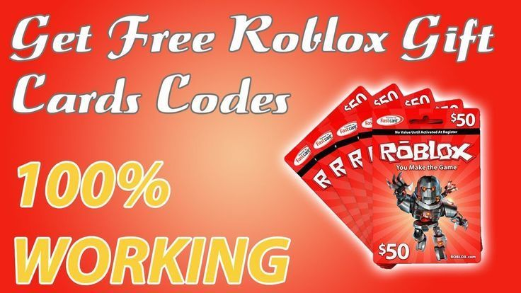 Free roblox gift cards 10000 robux codes 2019 100