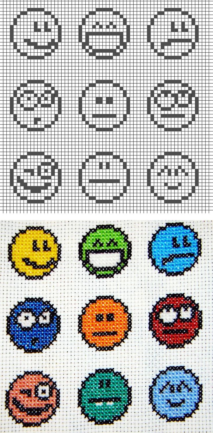 Cross stitch_emoticon   Welcome Craft