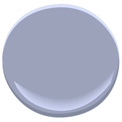 Benjamin Moore---Dreamy 1425.  Love this color!  It is close to a periwinkle, but has a gray undertone.  Would really pop with crisp white ceiling and trim!