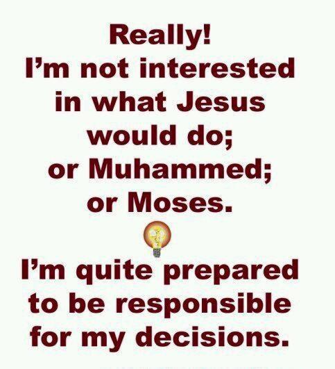 responsible: Atheism, I M Respon, Atheist Agnost, Religion Smh, Closet Atheist, Inspiration Things, Personal Respon, Religion Don T, Atheist Tendenc