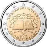 2 euro 50th anniversary of the Treaty of Rome - 2007 - Series: Commemorative 2 euro coins - Eurozone