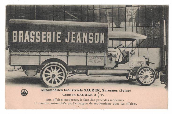 Automobiles Saurer, Suresnes (Seine) F