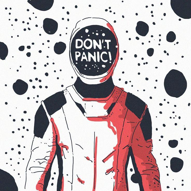 DON'T PANIC! #starman #eniac #sketch