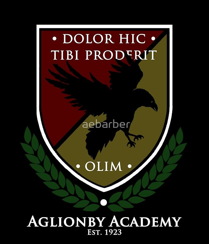 Aglionby Academy School Uniform, Full Color