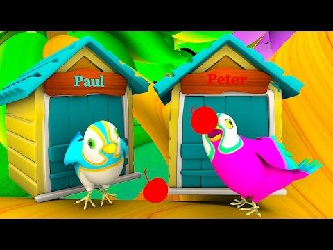 Two Little Dicky Birds   3D Animation   Kindergarten English Rhymes   Rhymes for kids. These videos is most funable and lessonable for kids.