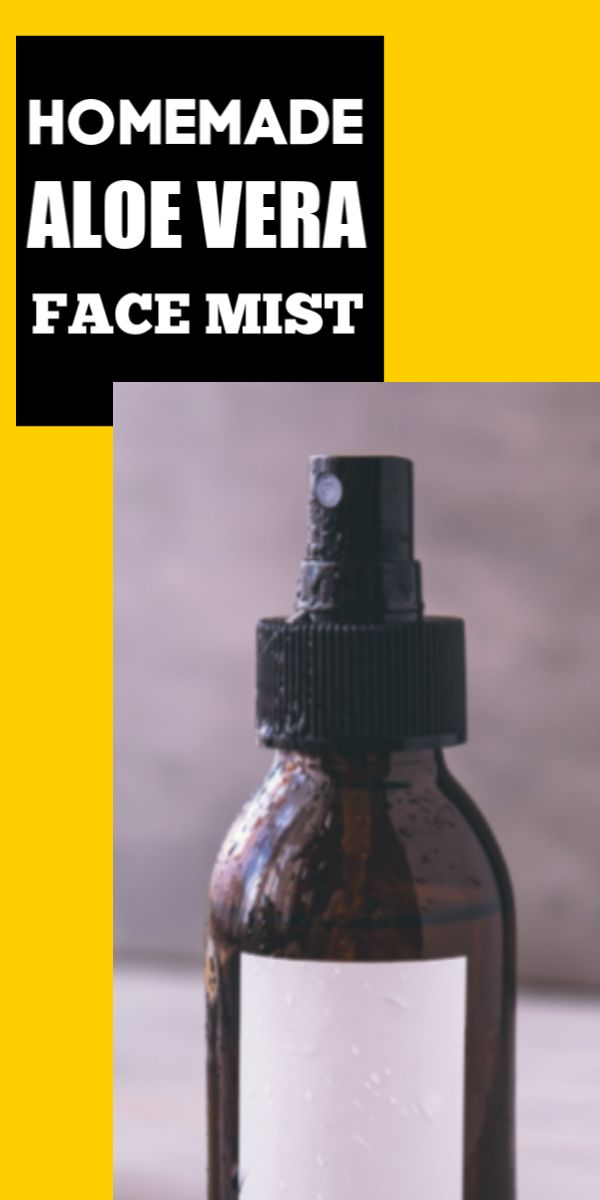 Homemade aloe face mist to shrink skin pores, get smooth skin in just 3 days
