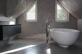 Badrum med golv från designgolv