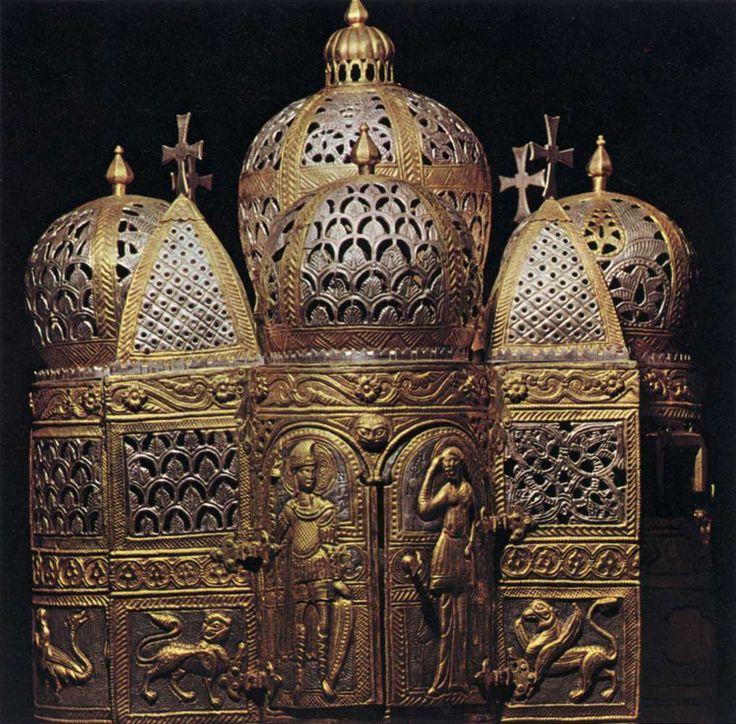 Incense Burner 12th century Silver-gilt Basilica di San Marco, Venice
