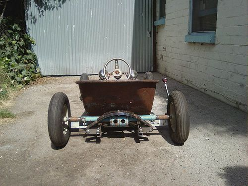 wheelbarrow go kart rat rods google search rat world. Black Bedroom Furniture Sets. Home Design Ideas