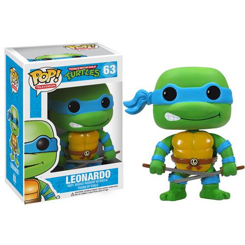 Teenage Mutant Ninja Turtles Pop Leonardo Vinyl Figure