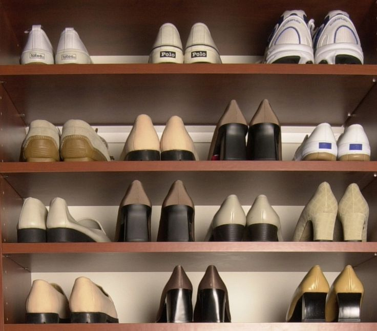 Shoe Racks For Closets | ... Shoe Organizer As The Perfect DIY Closet At