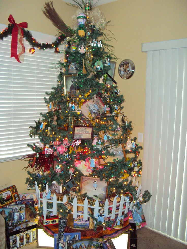 My Wizard of Oz Christmas Tree....I have collected for ...