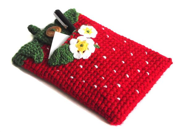 Hey, I found this really awesome Etsy listing at https://www.etsy.com/listing/129464432/strawberry-ipad-mini-sleeve