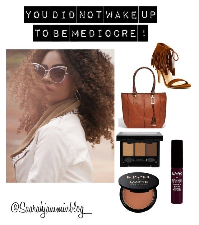 I am not by saarahwilliams on Polyvore featuring polyvore, fashion, style, NYX and clothing