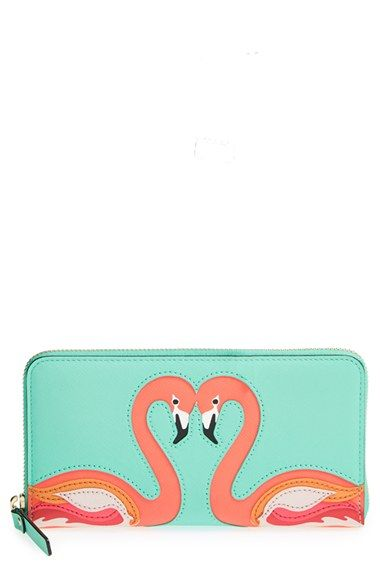 kate spade new york 'strut your stuff - lacey' zip around wallet available at #Nordstrom