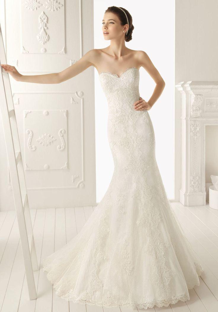 51 best Brautkleider images on Pinterest | Wedding frocks ...