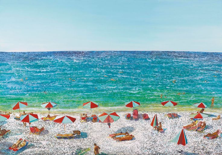 The Antidote of Water: Maria Filopoulou Paints the Greek Seas | Yatzer