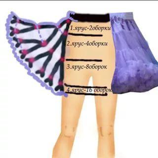 Как сделать юбку пышной мастер класс