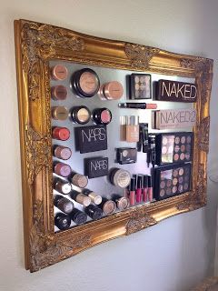 All Things Beauty!: DIY Magnetic Makeup Board