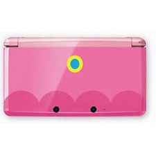 Chotto Pink 3DS- in the style of Miss Princess Peach. What a dream gift!