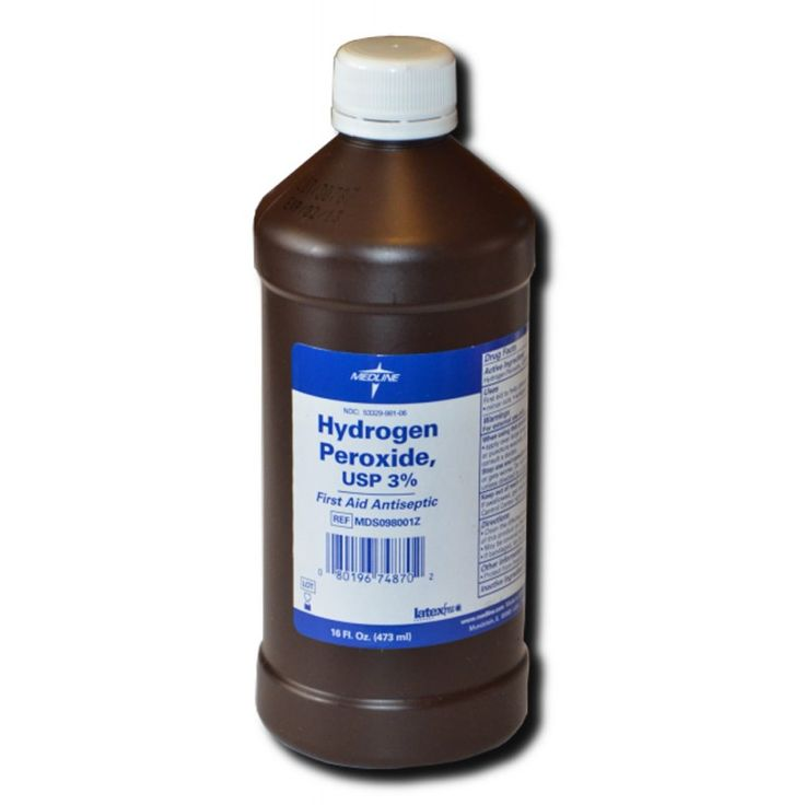 HYDROGEN PEROXIDE MAGIC!  Ever since I started using Hydrogen Peroxide