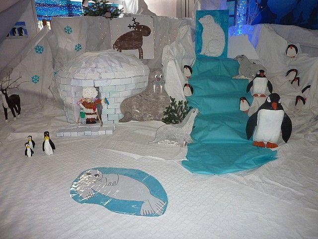 photos p le nord thema noordpool zuidpool kleuters. Black Bedroom Furniture Sets. Home Design Ideas