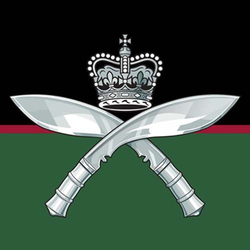Royal Gurkha Rifles  The Royal Gurkha Rifles (RGR) is a rifle regiment of the British Army, forming part of the Brigade of Gurkhas. Unlike other regiments in the British army, soldiers are recruited from Nepal, which is neither a dependent territory of the United Kingdom nor a member of the Commonwealth. Their motto is: Better to die than live a coward.
