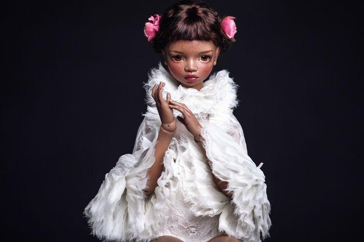 porcelain art doll by Irina Lumiere