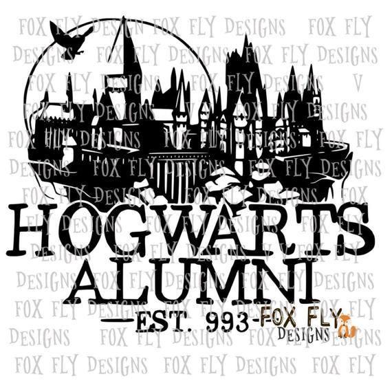 Download Hogwarts Alumni SVG Cricut Silhouette Harry Potter HP Ron ...