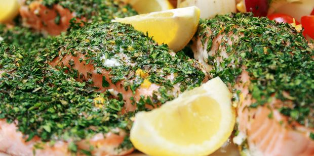 Oven Roasted Salmon Fillets: One of those easy meals for dinner and can be used the following day on a salad or in a soup.
