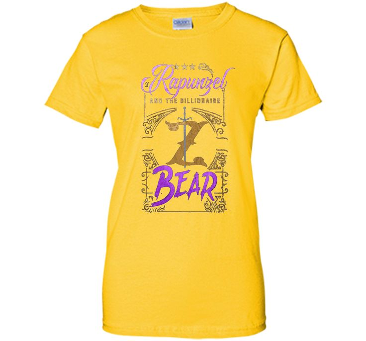 Rapunzel And The Billionaire Bear T-Shirt (Titles)