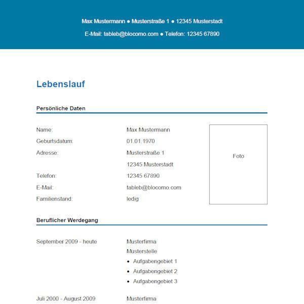 Groß Schriftart Für Den Lebenslauf Galerie - Dokumentationsvorlage ...
