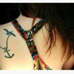 19 Bold Small Anchor Tattoos