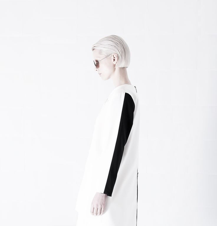 SS15 - Sleeve panel contrast #orphanbird #ss15 #minimal #womenswear #minimalism #editorial