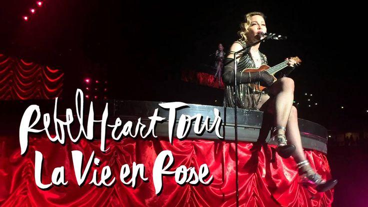 """Madonna performs """"La Vie en Rose"""" at her first Sydney Rebel Heart show. ▲ Instagram - https://instagram.com/ketobaberocks/ ▲ Facebook - http://www.facebook.c..."""