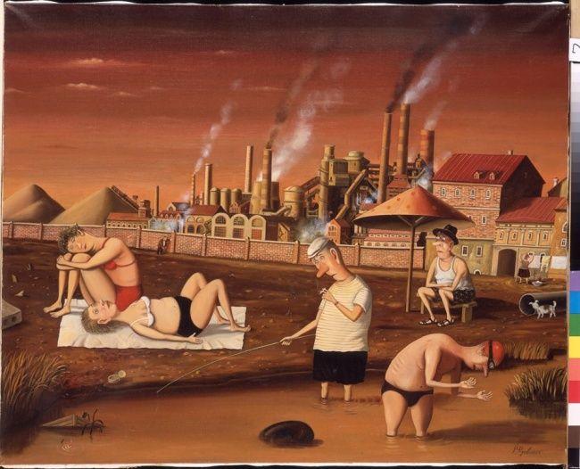 Жизнь, как она есть, в творчестве художника Валентина Губарева.