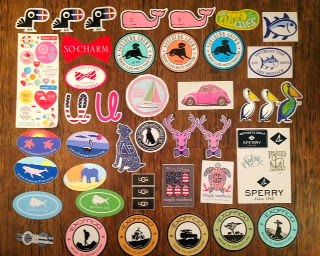 How to get Free Preppy Stickers Part Two! - Live The Prep Life